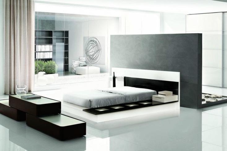 Стиль хай-тек в дизайне спальни