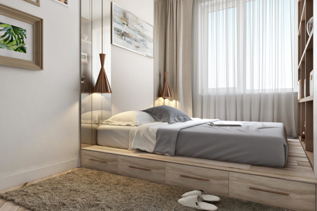 Стоит ли выбирать кровать-подиум
