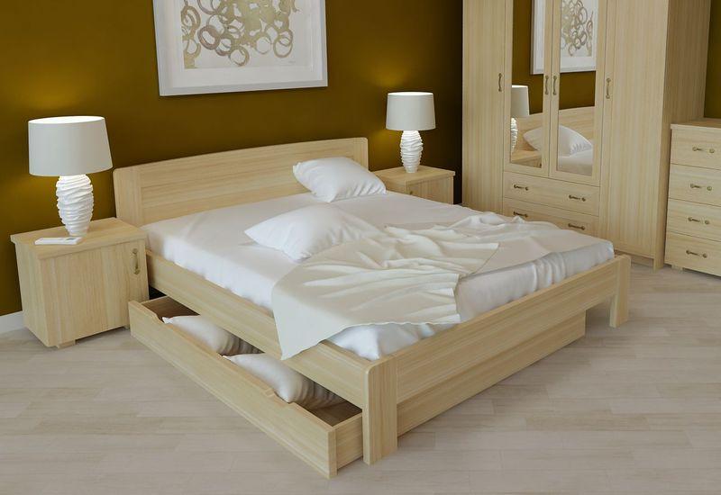 Светлые покрытия мебели из дерева
