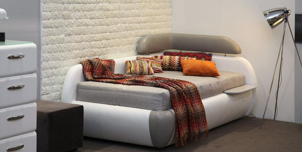 Угловой вариант кровати