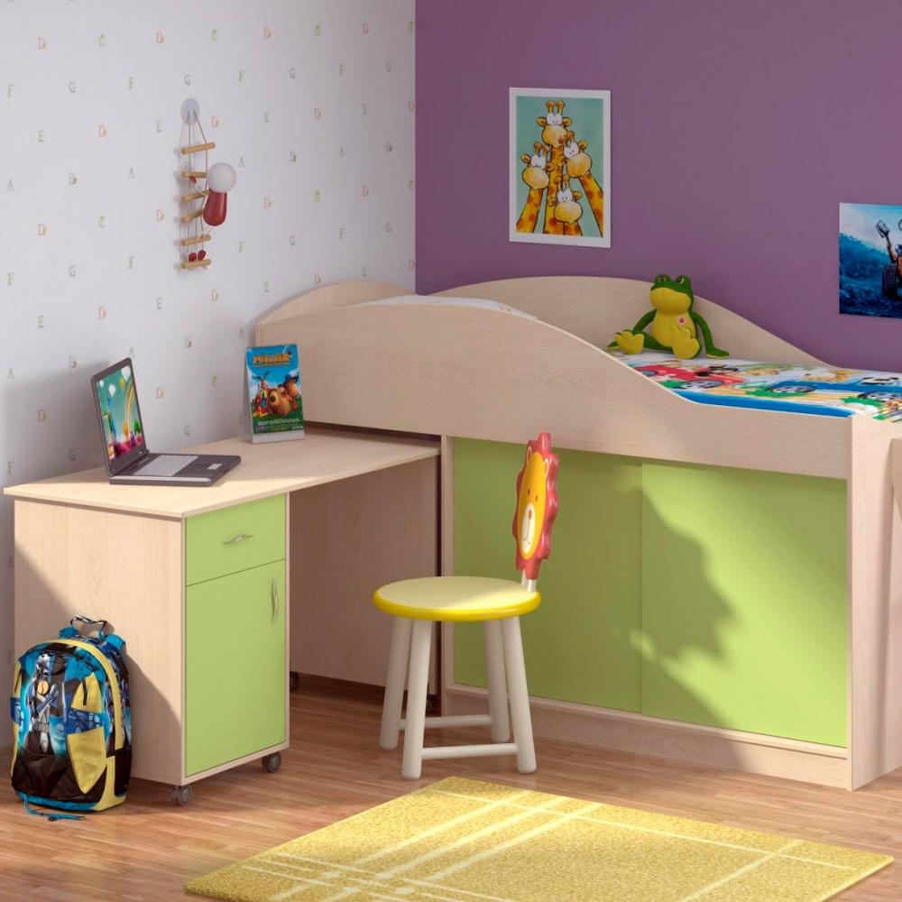 Угловые предметы мебели для сна ребенка