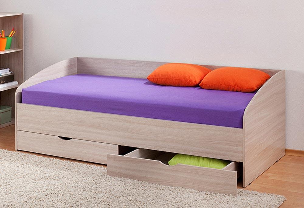 Вставные ящики в современной кровати