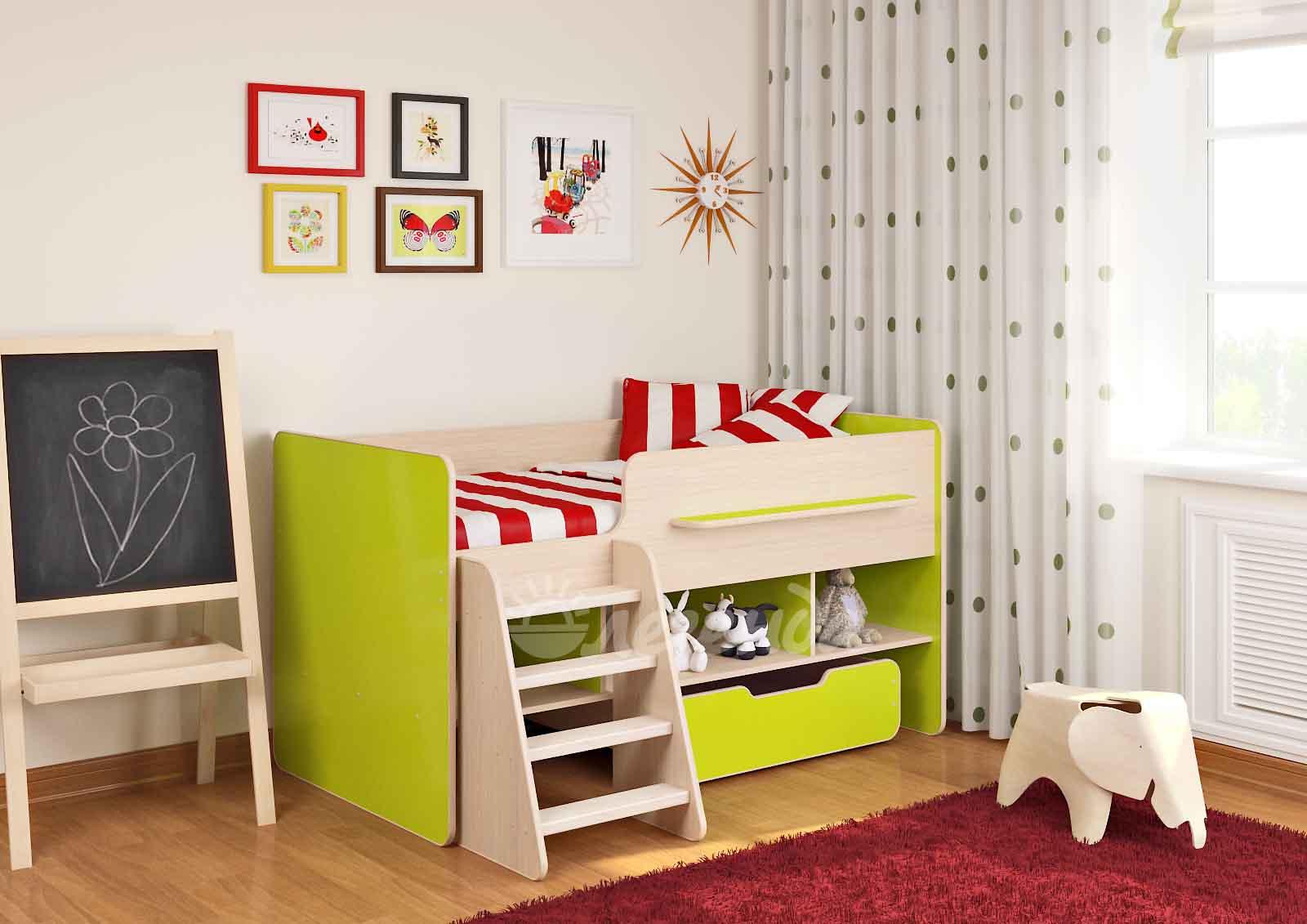Выбор кровати для детей
