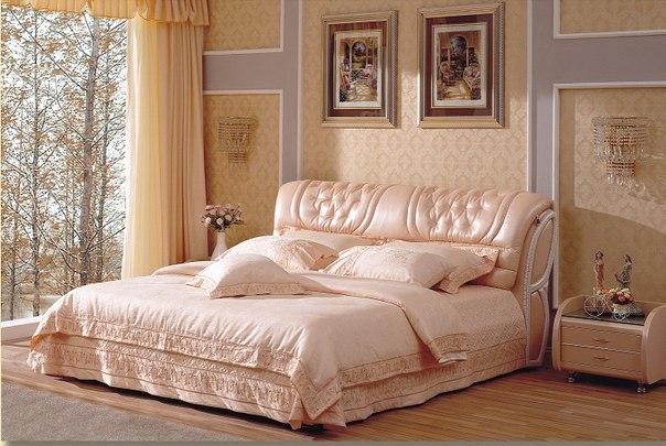 Выбор современной красивой кровати для двоих