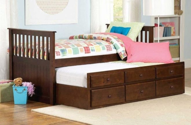 Выдивжная современная кровать
