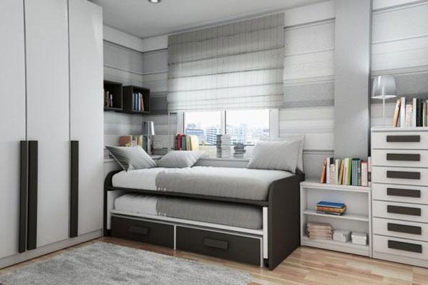 Выдвижная кровать - экономия пространства детской
