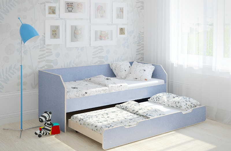 Выдвижные кровати для двоих детей – это идеальное решение для небольших квартир