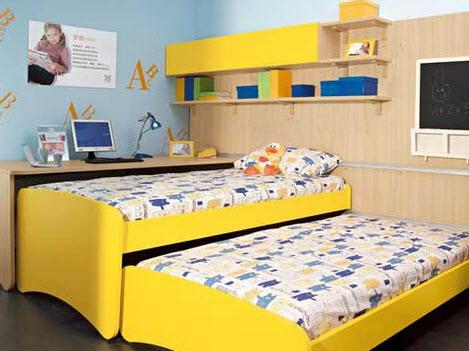 Выкатная кровать для двоих детей