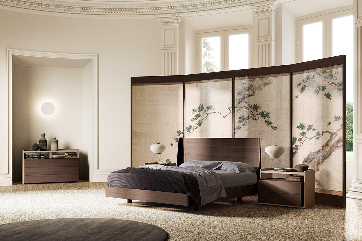 Кровать в интерьере