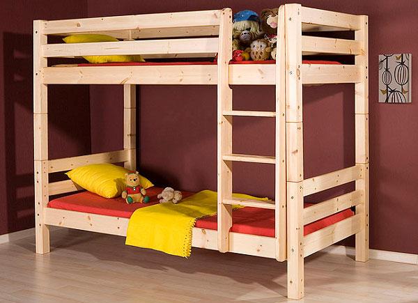 Имеется три основных преимущества наличия двухъярусной кровати в доме