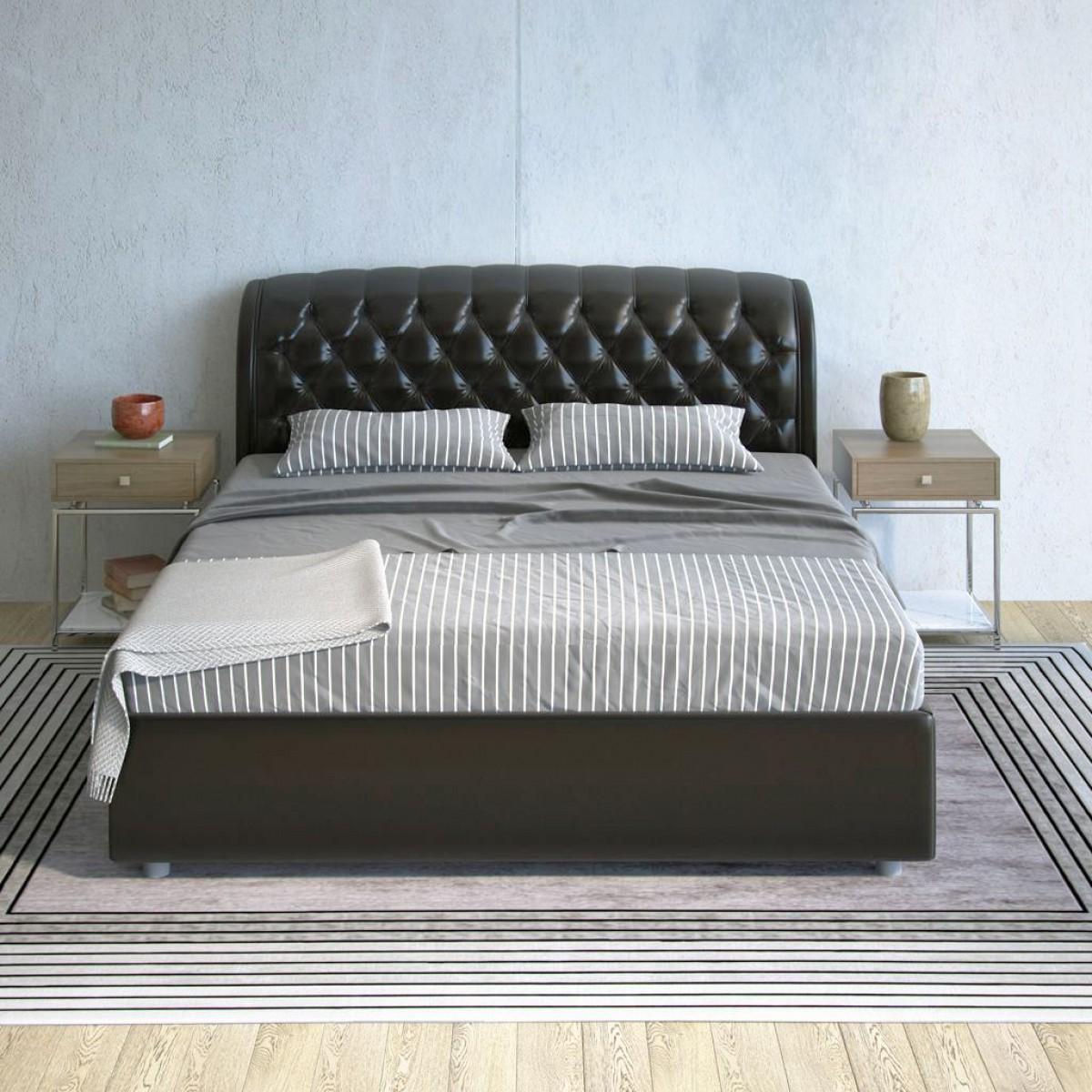 Кровать Barletto - элегантная кровать с мягким изголовьем