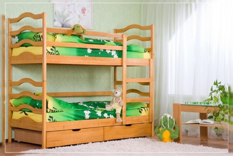 Надежные двухъярусные кровати