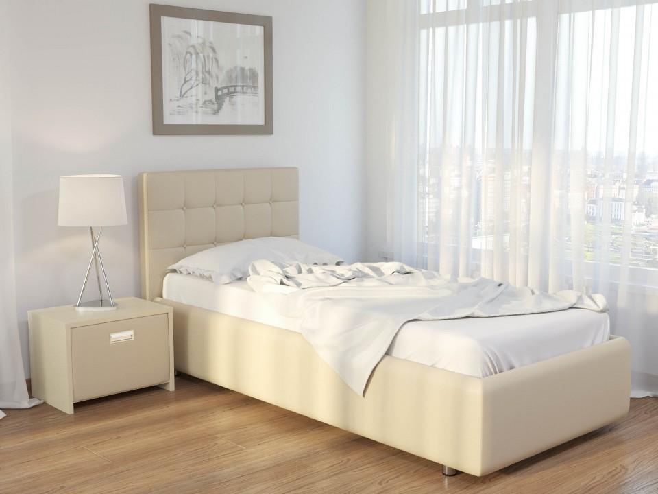 Односпальная мягкая кровать