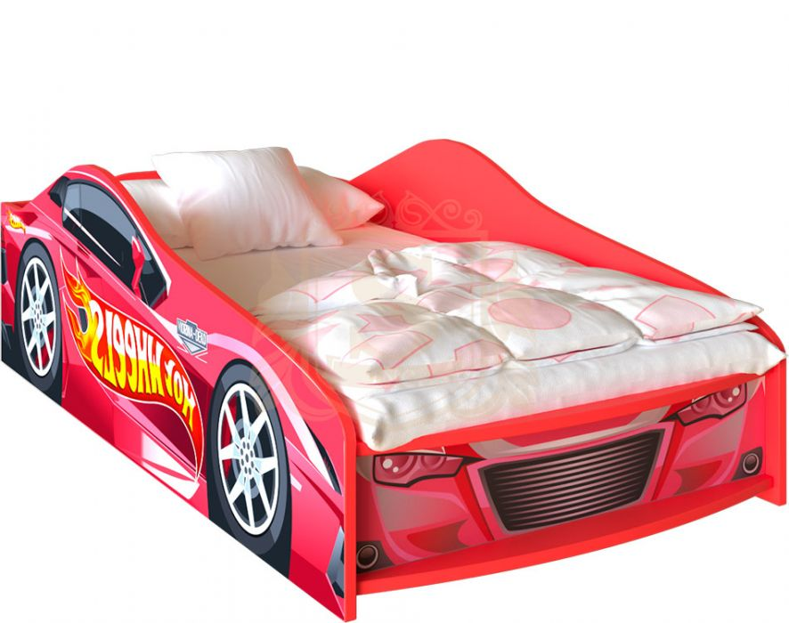 Кровать в виде машины