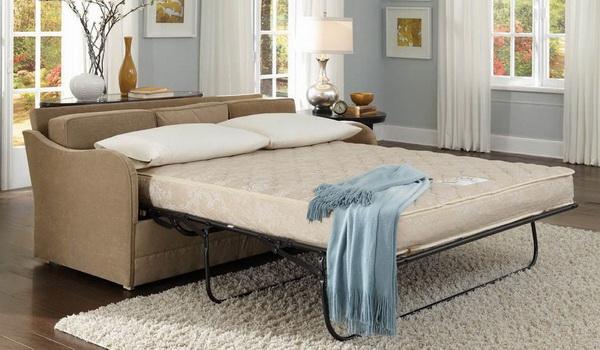 Достоинства и недостатки дивана-кровати