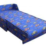Синее кресло-кровать