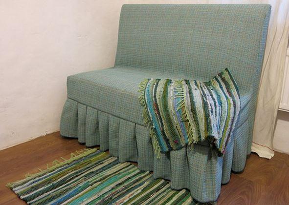 Готовый чехол на диван