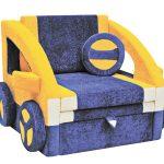 Кресло-кровать машина для детской