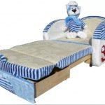 Кровать в разложенном виде