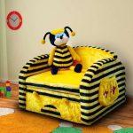 Яркое кресло-кровать для детской