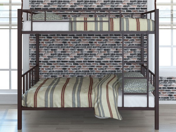 Классическая металлическая кровать