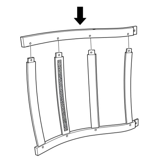 Этапы сборки кресла