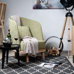 Зеленое кресло