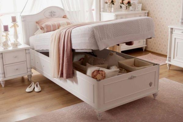 Подъемный механизм в детской кровати