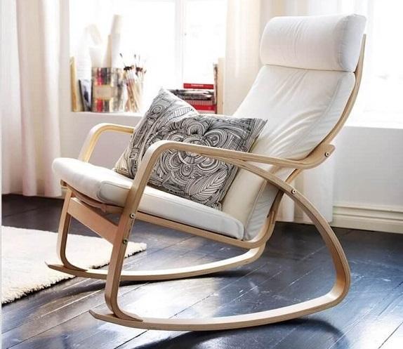 Белое кресло Икеа