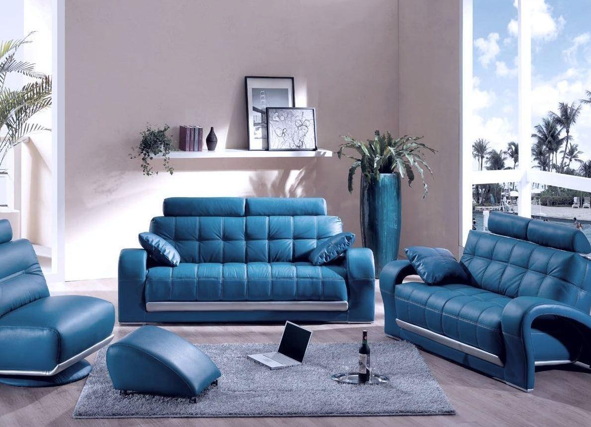Бирюзовый комплект мебели