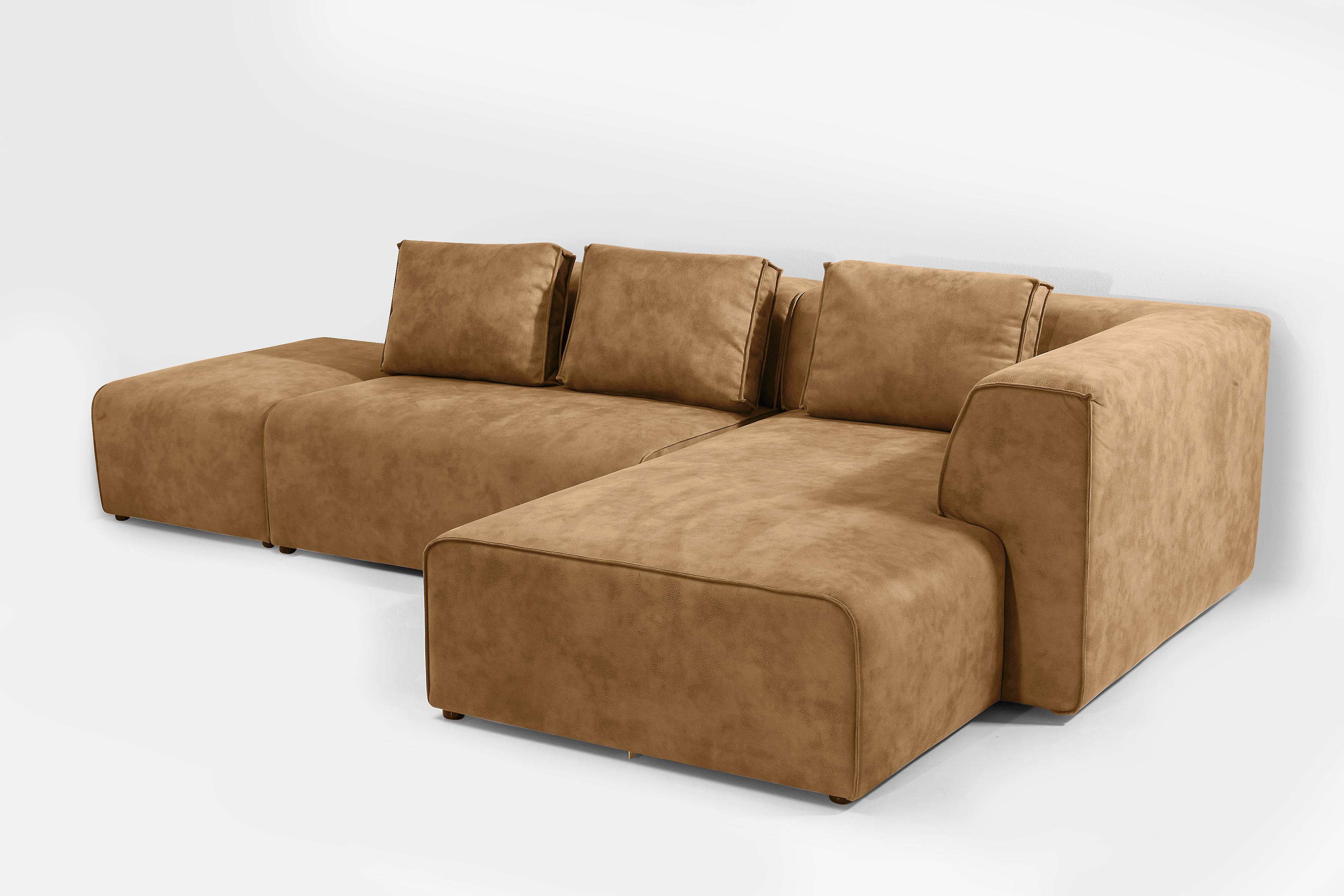 Большой диван в стиле лофт