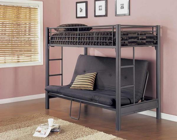 Кровать-трансформер из металла с диваном