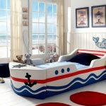 Детская кровать-корабль