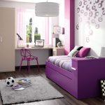 Детская в фиолетовом цвете
