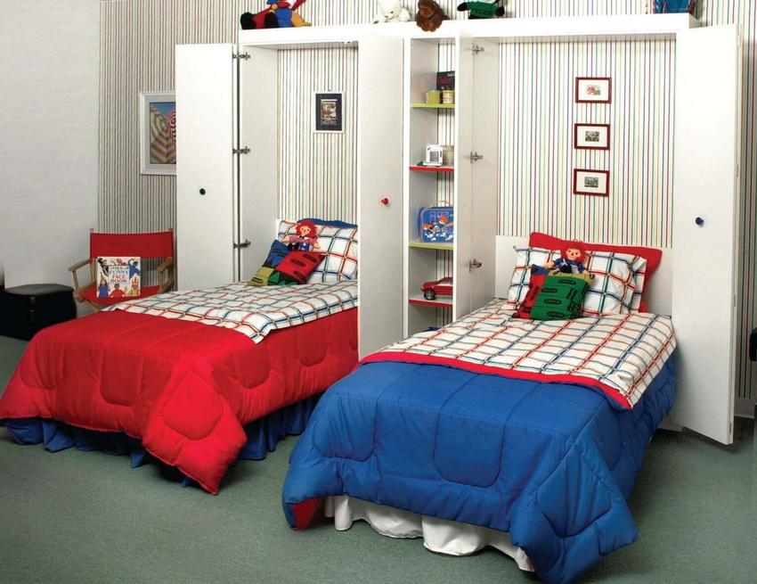 Детские кровати-трансформеры встроенные