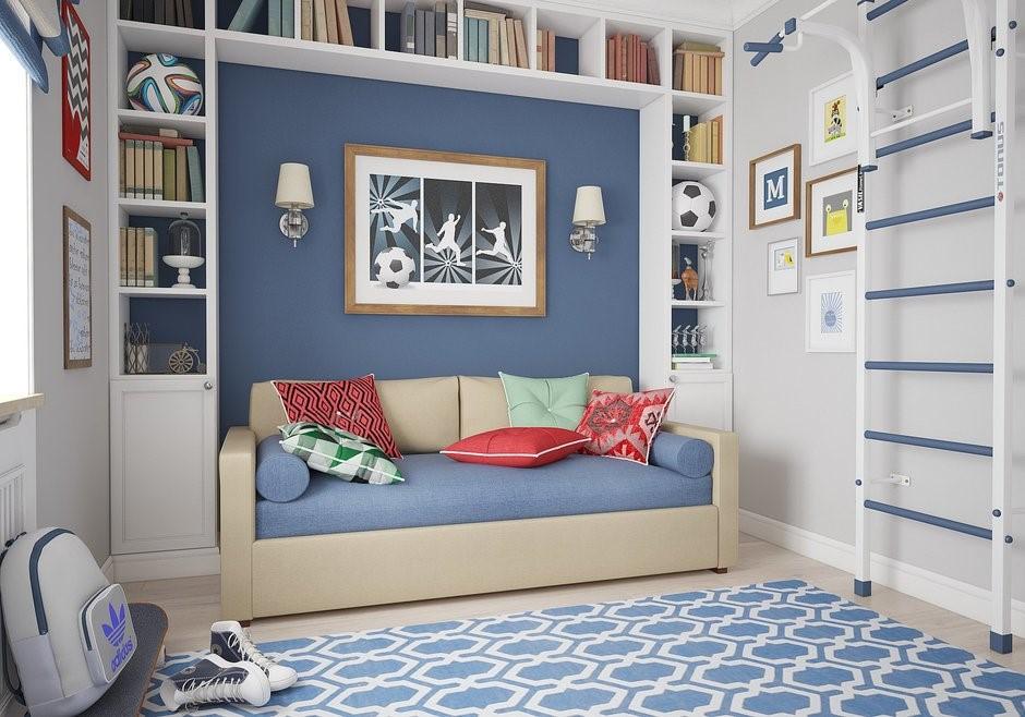 Диван-кровать в детской