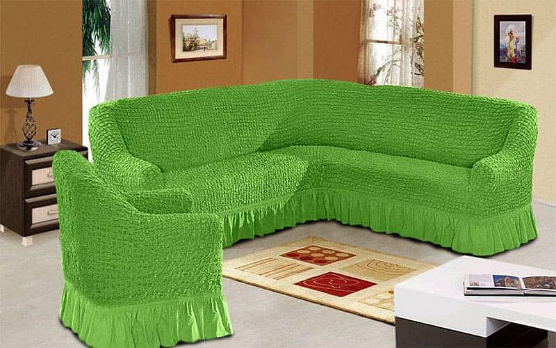 Чехол на диван для гостиной