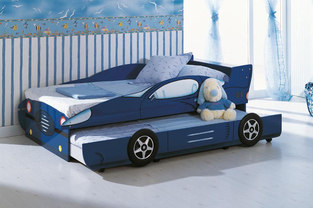 Кровать для мальчика дошкольного возраста