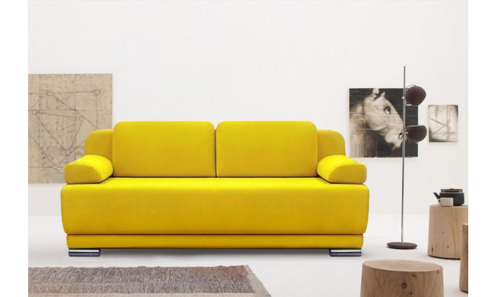 Двухместный желтый
