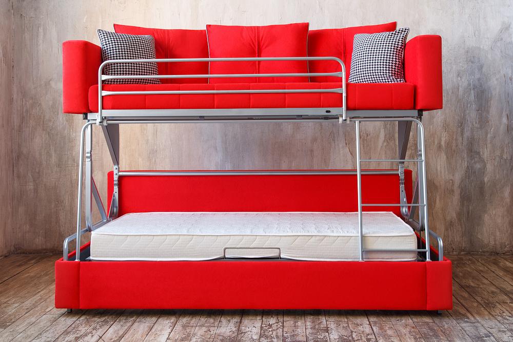 Двухъярусный диван