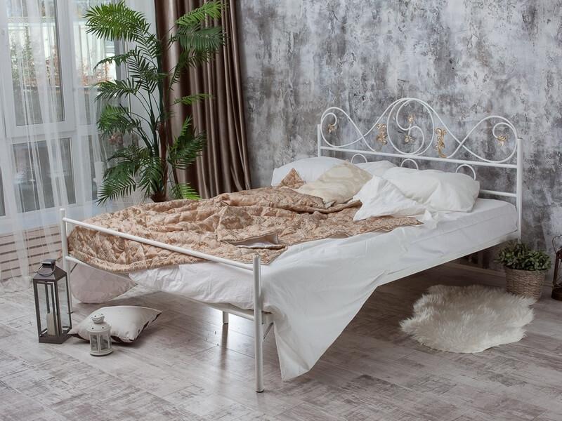 Двуспальная металлическая кровать Francesco Rossi Венеция