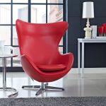 Egg Chair красного цвета