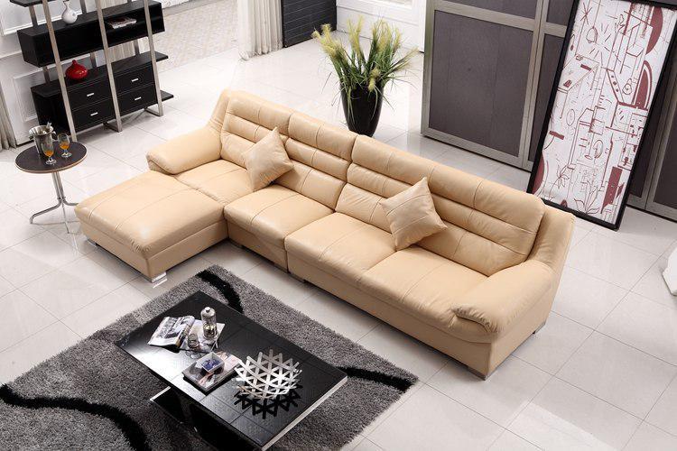 Г-образный современный диван