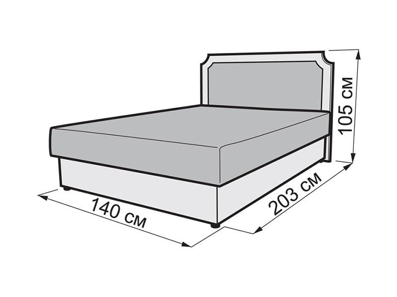 Размер полуторной кровати