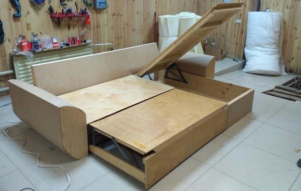 Каркас дивана из ДСП