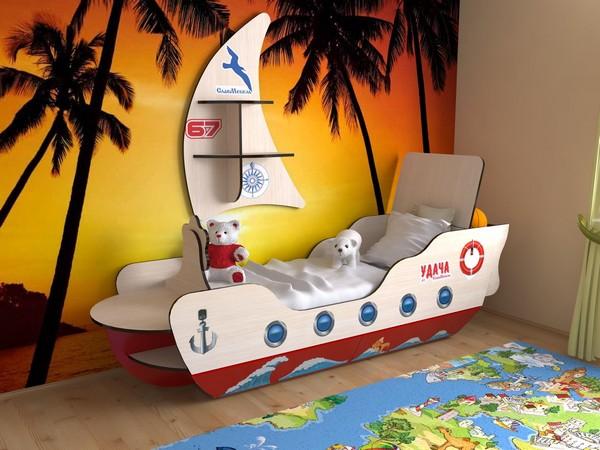 Кораблик c парусом