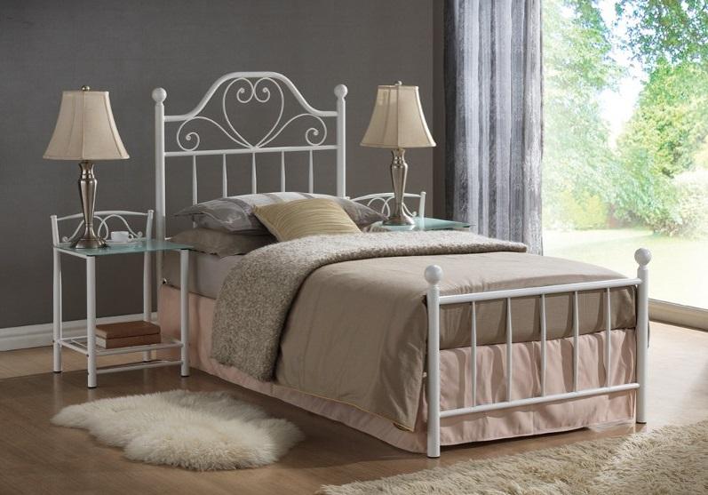 Кованая полуторная кровать