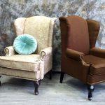Красивые каминные кресла