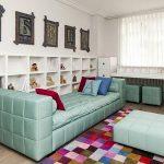 Креативный детский диван