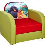 Кресло-кровать с рисунком